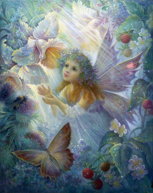 Сердце Доброе Феи Цветочной