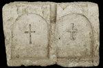 Плитка обкладки могилы. Средние века.