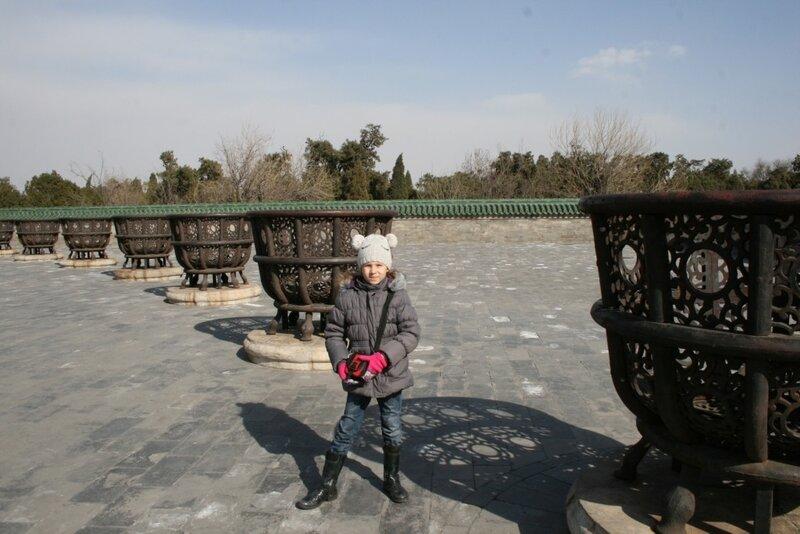 Пекин, в Храме Неба