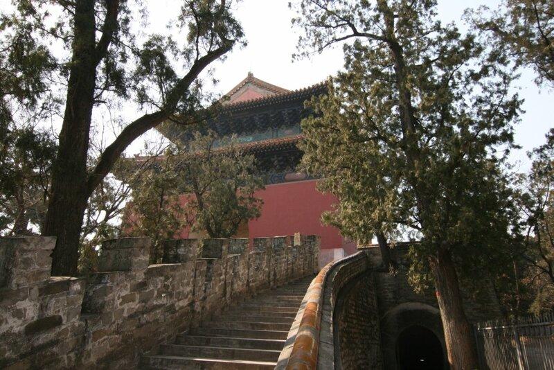 Западные гробницы династии Цин, дорога в рай