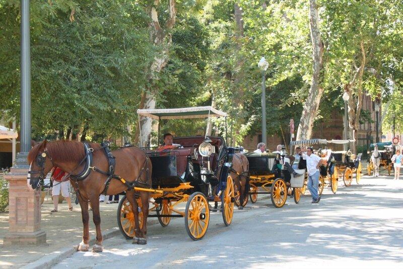 Севилья, парк Марии-Луизы