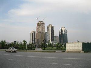Стройка в Грозном