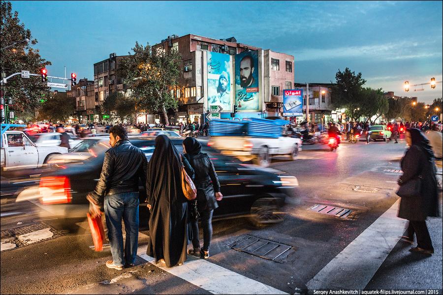 Дорожное движение по-ирански