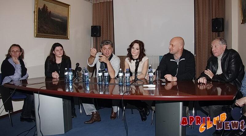 Пресс-конференция шоу «Пола Негри»
