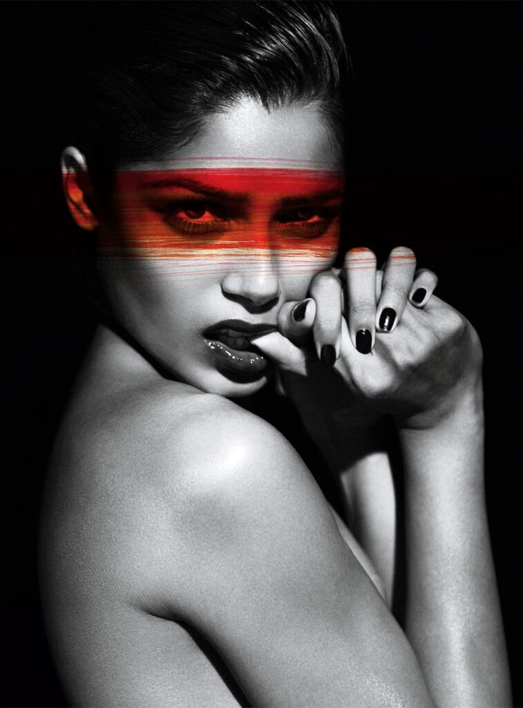 Freida Pinto by Mert & Marcus for Interview