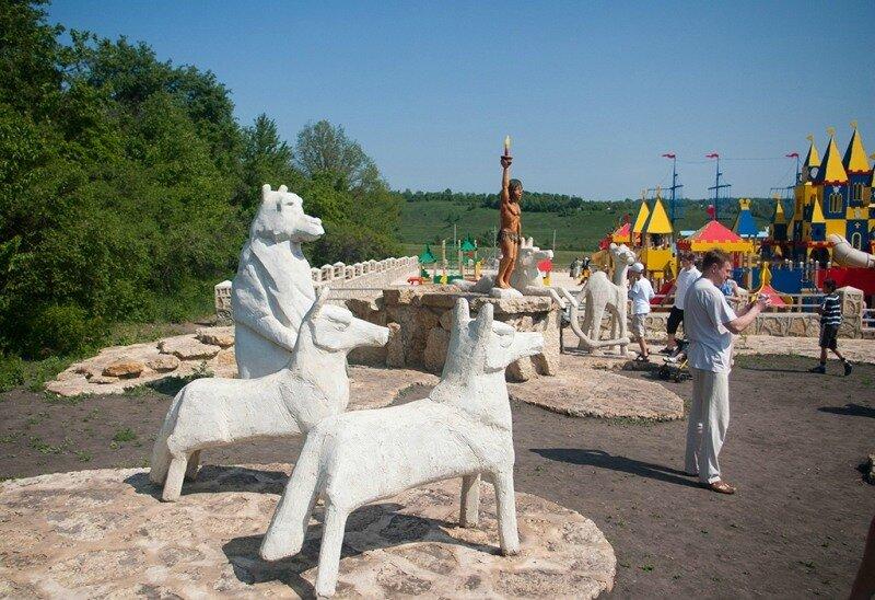 Фото Кудыкина гора.  Россия, Липецкая область, Задонский район.