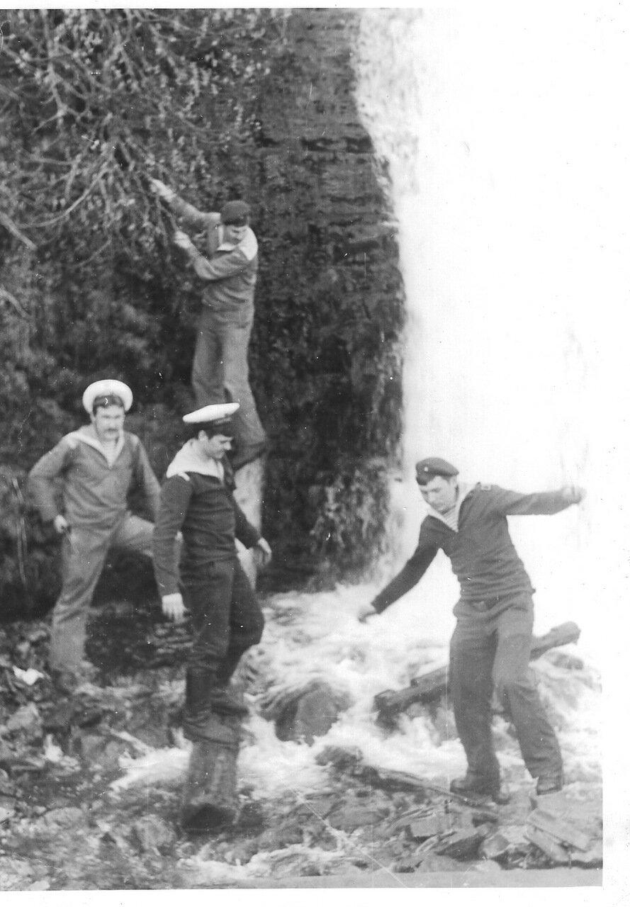 Водопад возле Водозабора