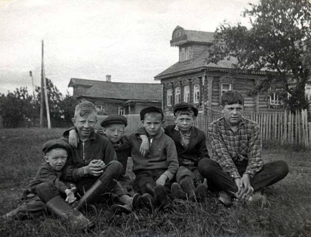 1963. Дети деревни Резанка