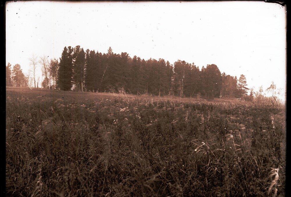 1912. Река Вах, остров шаманской избушки
