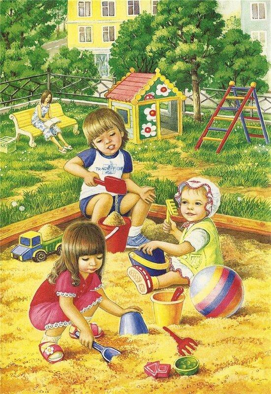 картинки для детей летние забавы