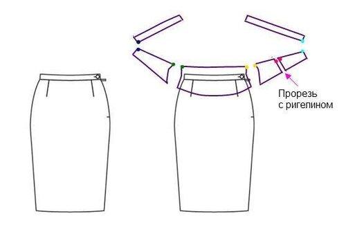 Как сшить широкий пояс для летнего платья 63