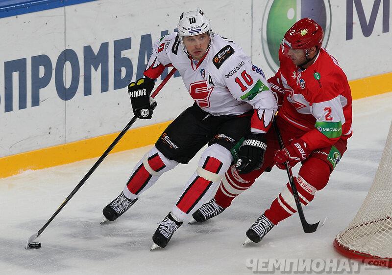 «Спартак» vs «Авангард» 3:2 Б чемпионат КХЛ 2013-2014 (Фото)
