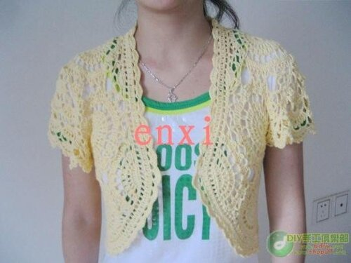 spring and summer crafts: lace bolero free crochet patterns | make ...