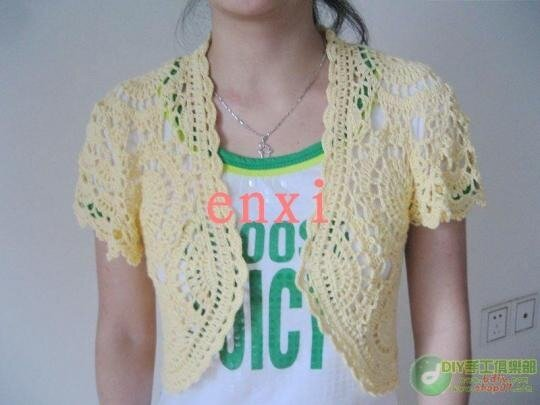 Crochet Bolero Pattern : ... : lace bolero free crochet patterns make handmade, crochet, craft