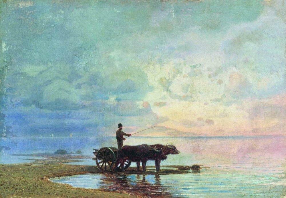 На берегу моря. 1871-1873.jpg