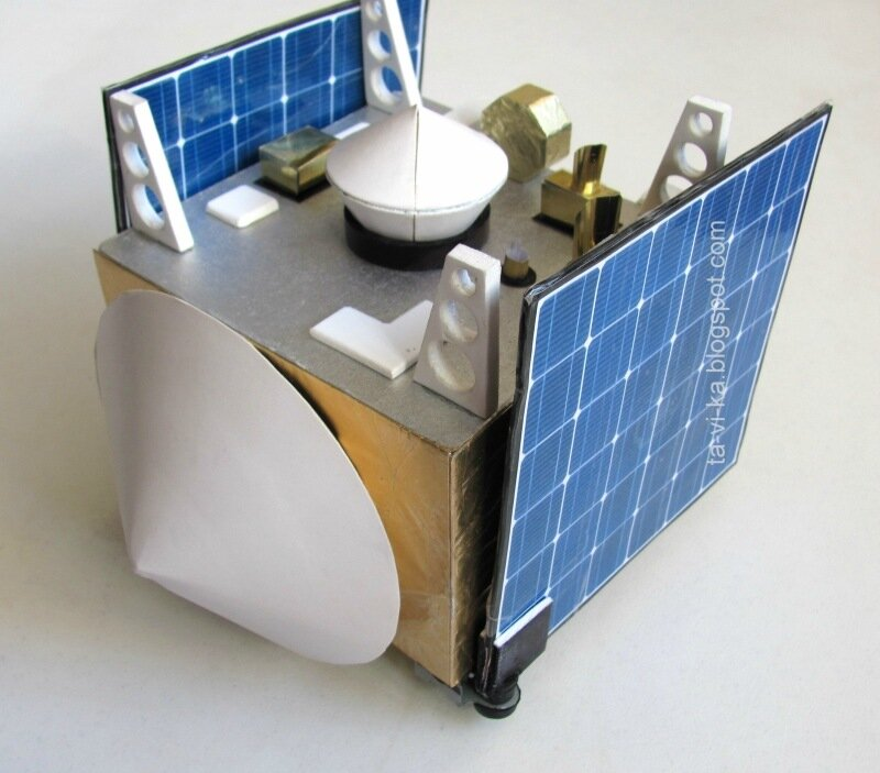 OSIRIS-REx макет своими руками