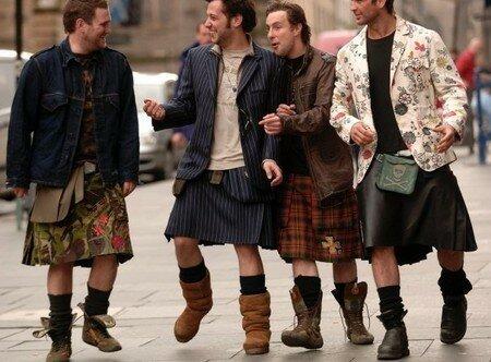 Килты и другие мужские юбки   фотографии мужчин в юбках