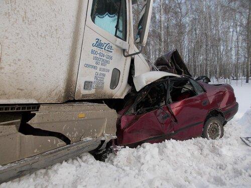 Авария 4 марта на трассе