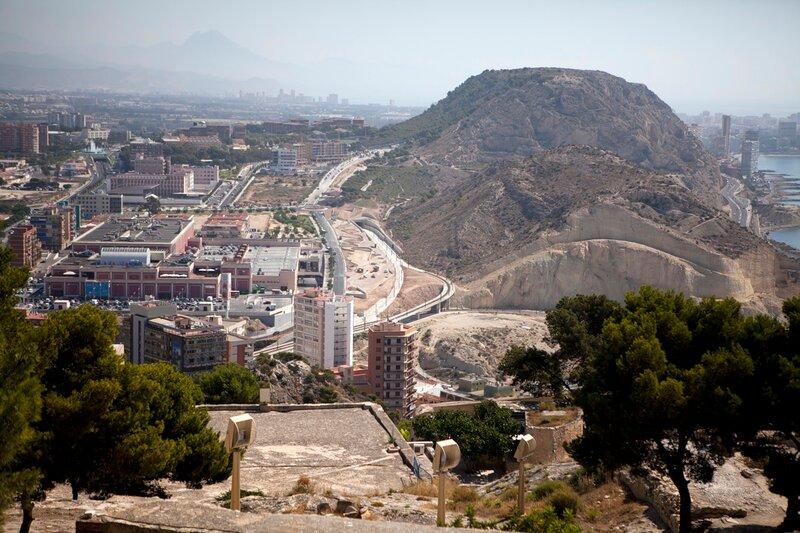 Cityscape of Alicante,