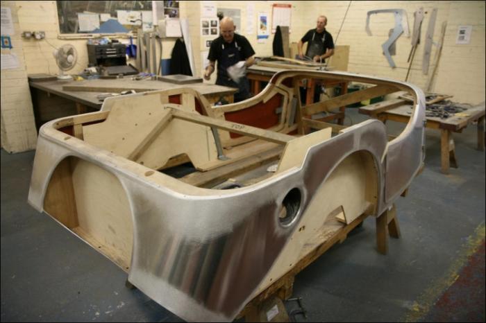 Деревянные автомобили Моргана
