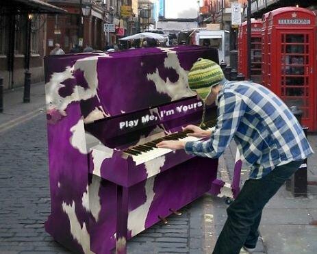Декорирование фортепиано
