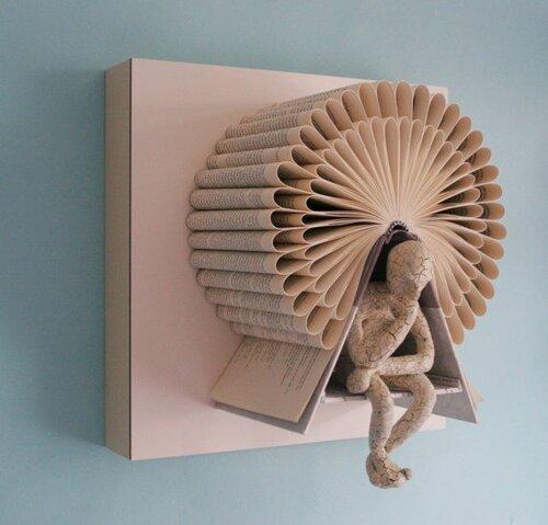 Бумажные скульптуры Daniel Lai