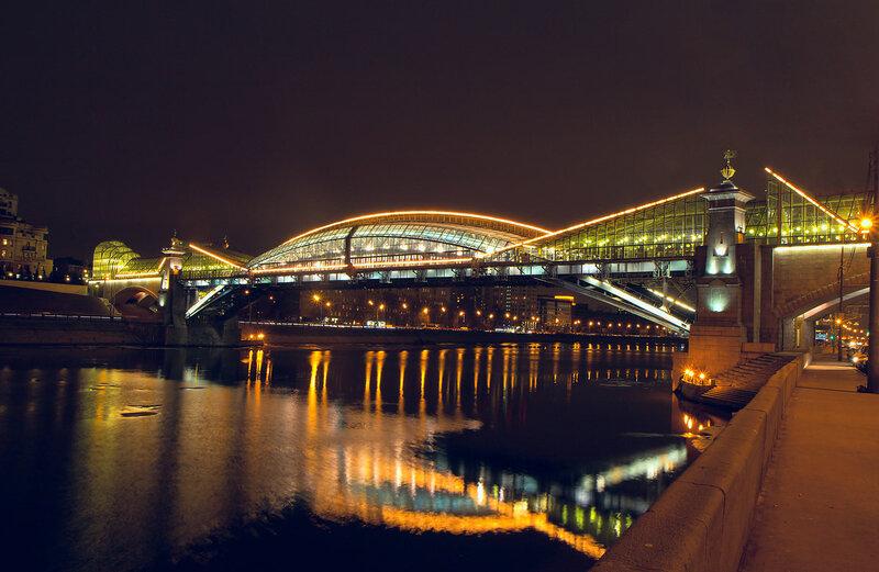 Москва. Мост Богдана Хмельницкого.