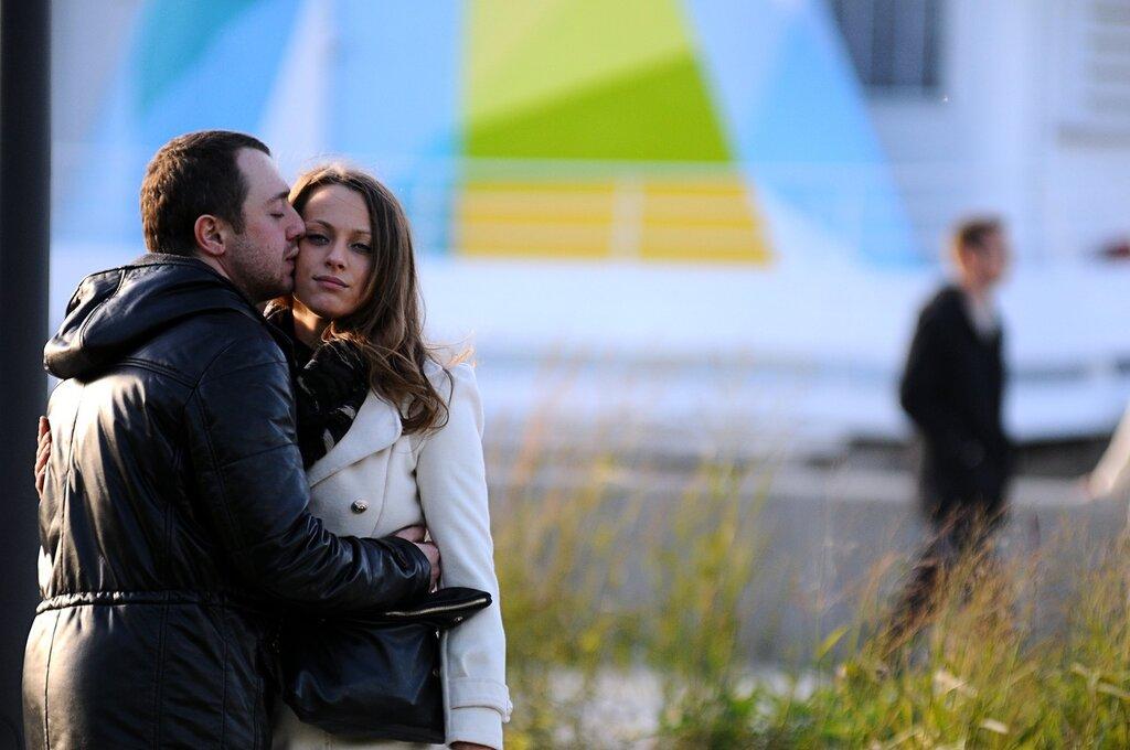 Осень на Крымской набережной