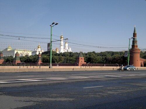 Кремль с моста 2011