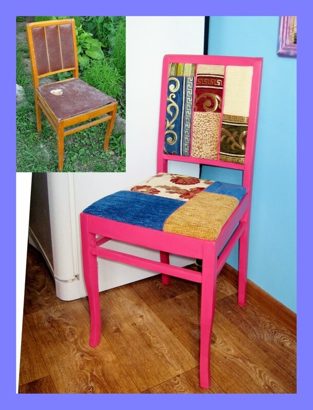 Старые стулья реставрация своими руками
