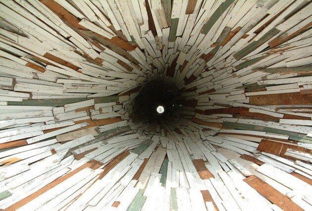 Дырка-дом (The Hole House). Штат Техас, США