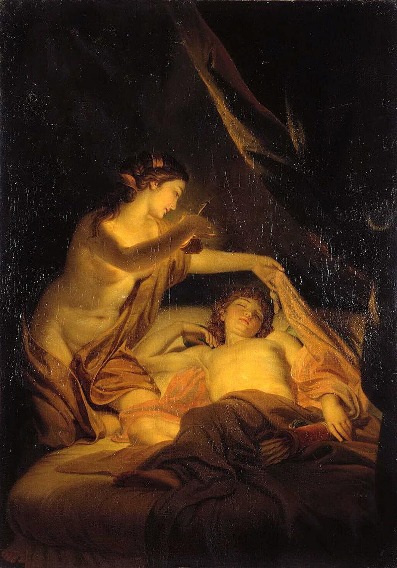Боги пели хвалу ее красоте и доброму нраву, венере пришлось смириться и признать психею