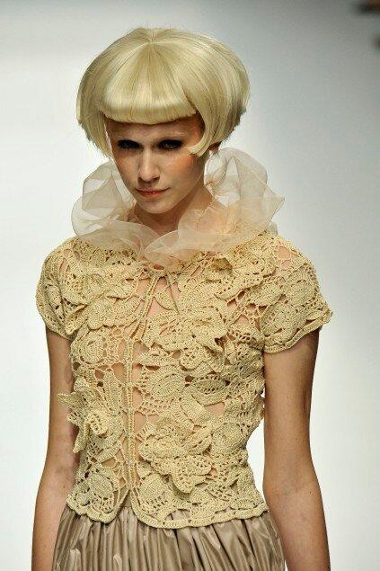 爱尔兰拼花衣(307) - 柳芯飘雪 - 柳芯飘雪的博客