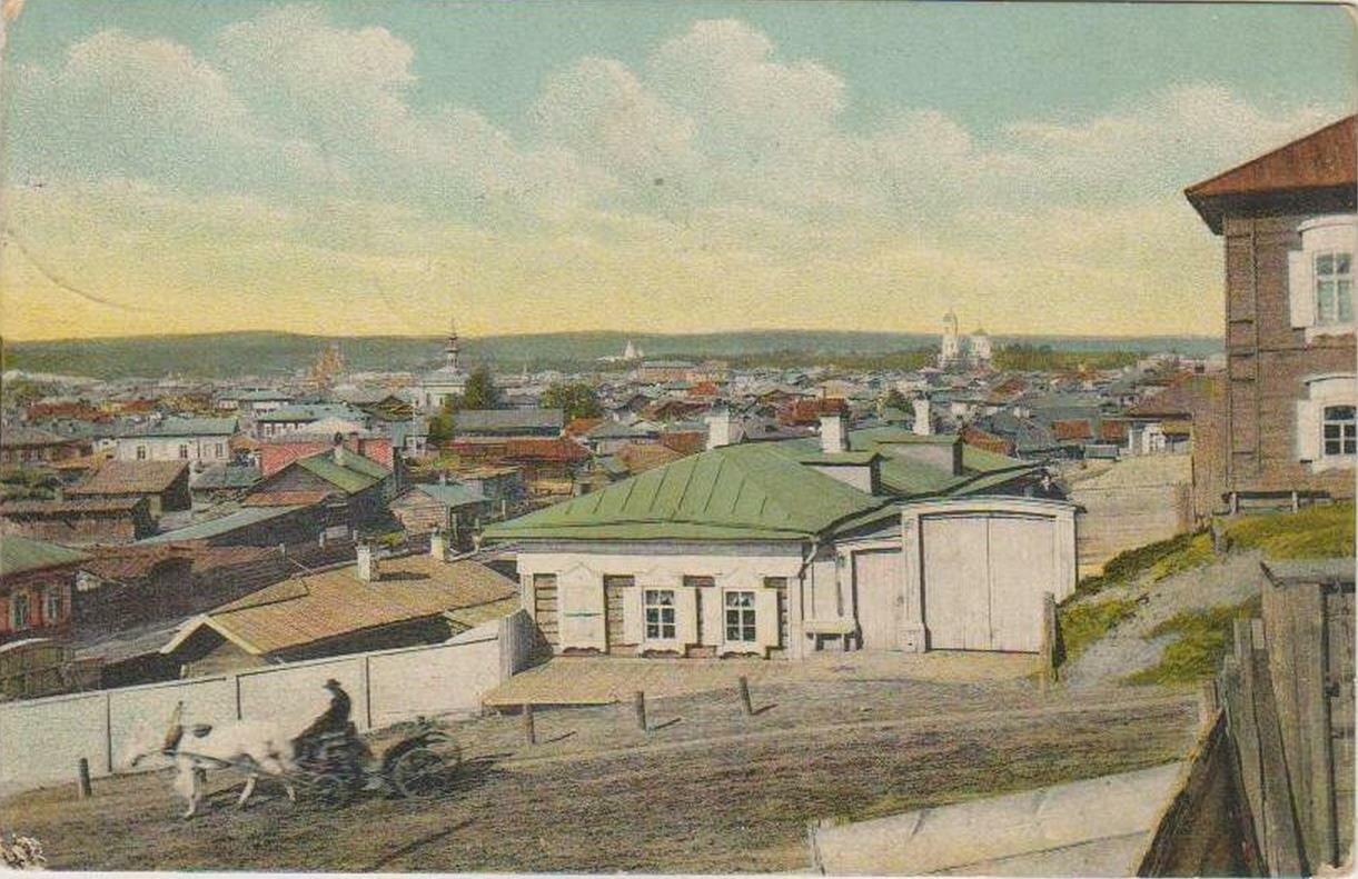Вид на город с Русиновской горы