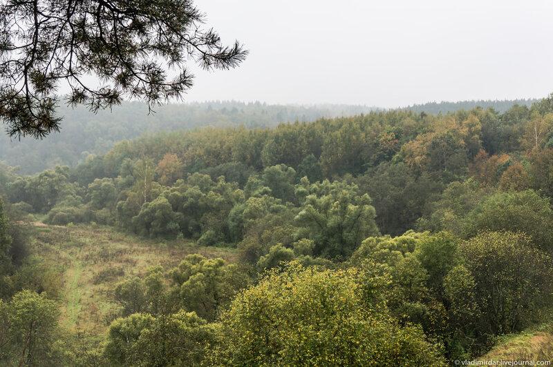 Луковня - осенний пейзаж