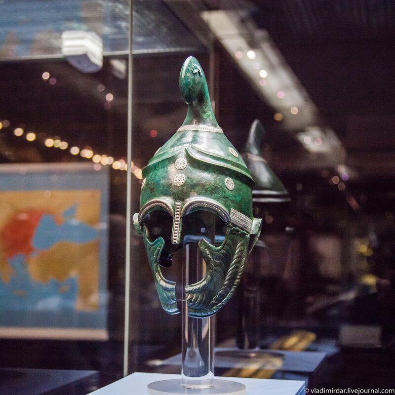 Шлем фракийского воина-правителя