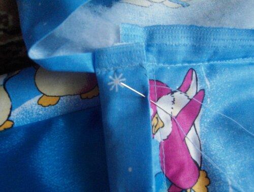 Сделать своими руками развивающий коврик...окантовка швейная