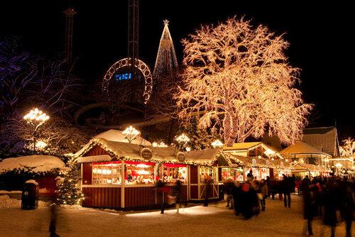 Европа готовится к рождеству: красивейшие праздничные ярмарки