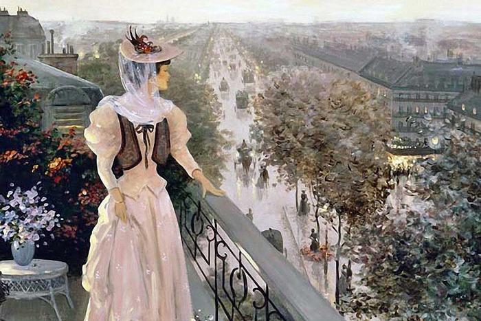 Париж Кристы Киффер
