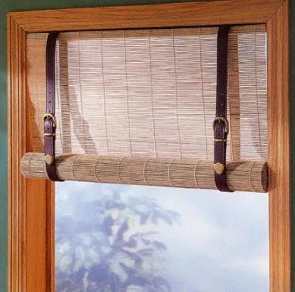 Рулонные шторы на окна своими руками