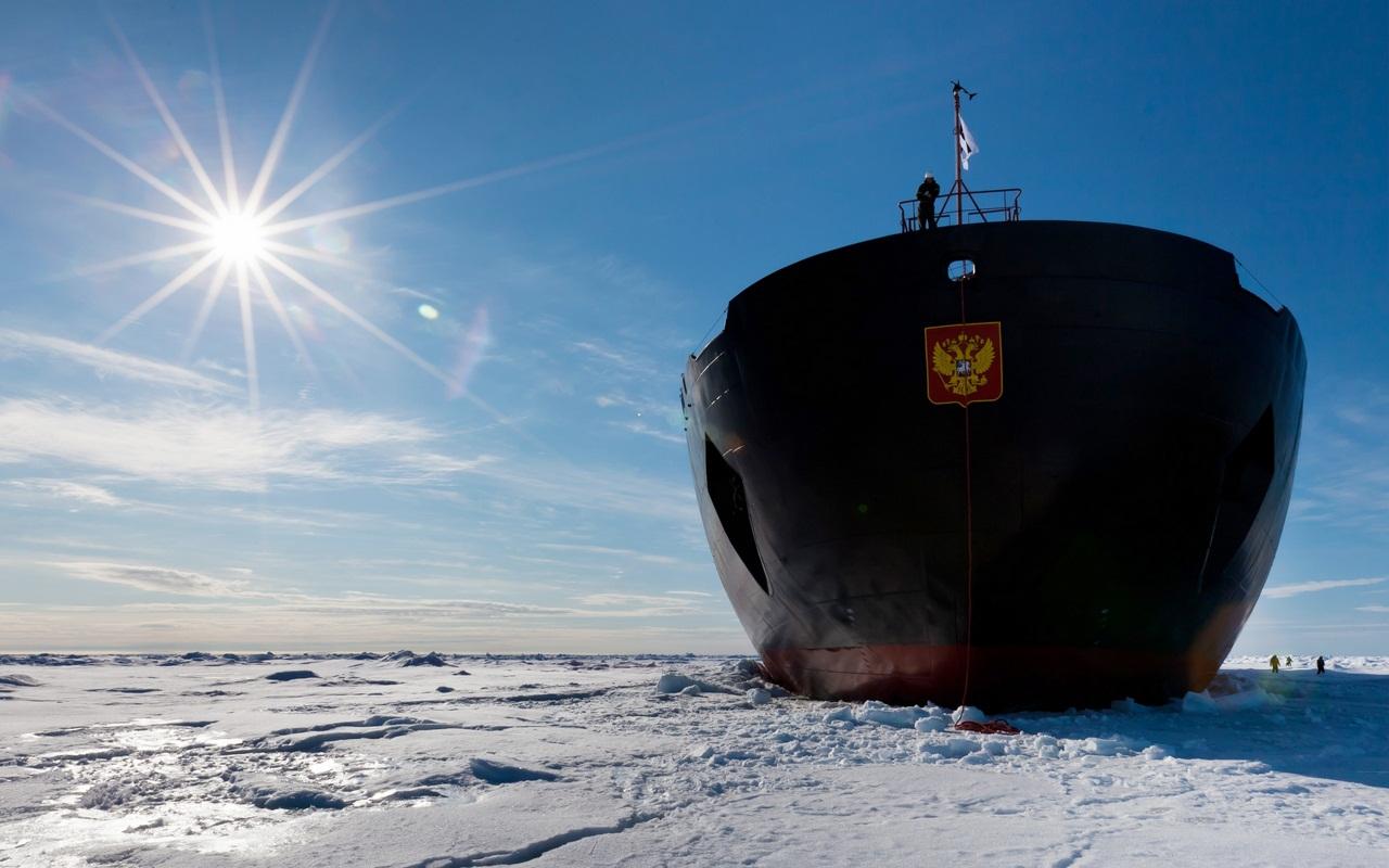 Обои 50 лет победы, россия, судно, атомный ледокол, 10521, Атомфлот. Разное foto 10