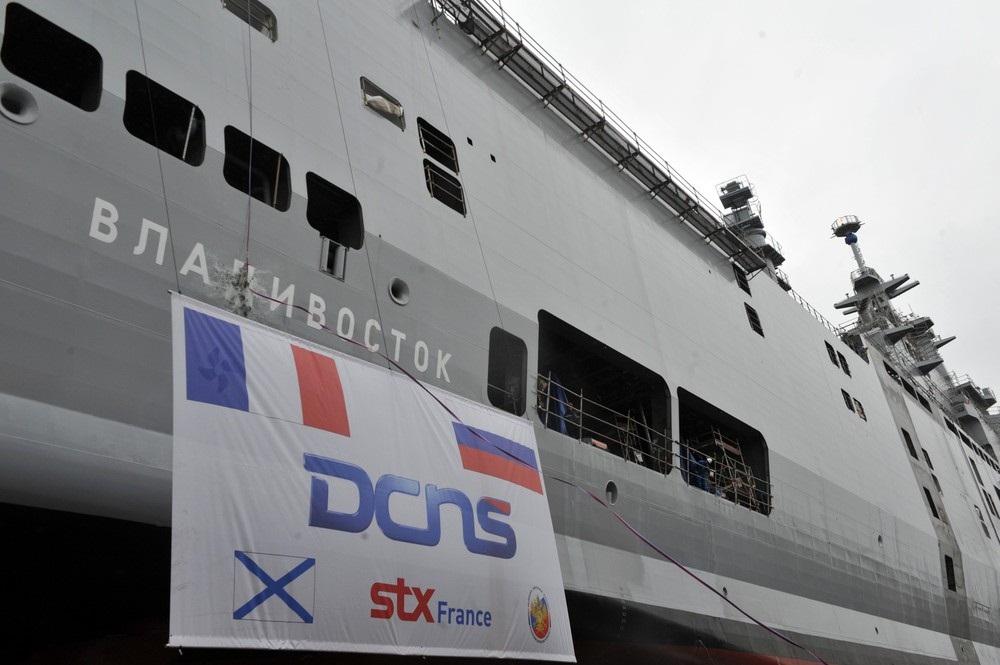 FRANCE-RUSSIA-STX-DCNS-VLADIVOSTOK