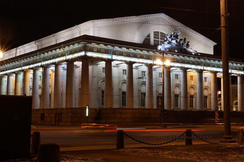 Здание Биржи (1805-1810г), Санкт-Петербург