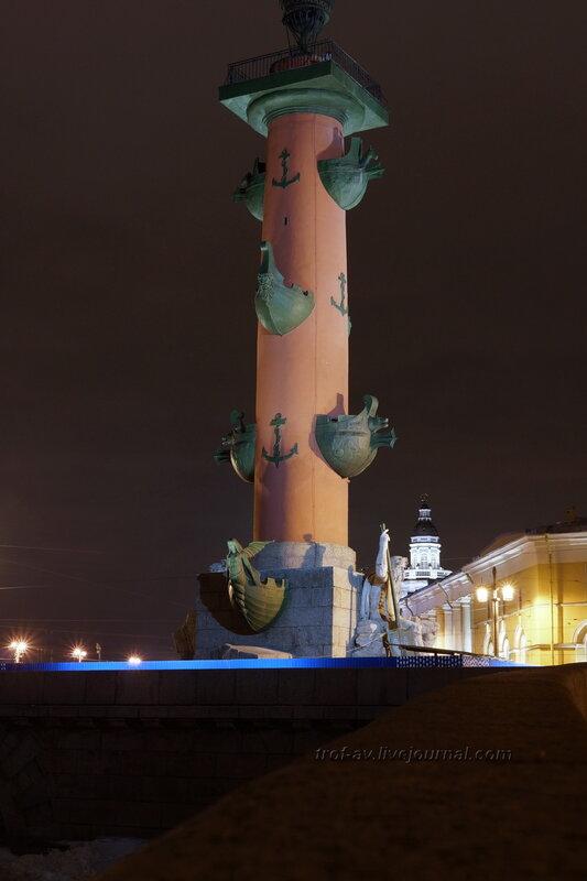 Южная ростральная колонна (1805-1810гг), Санкт-Петербург