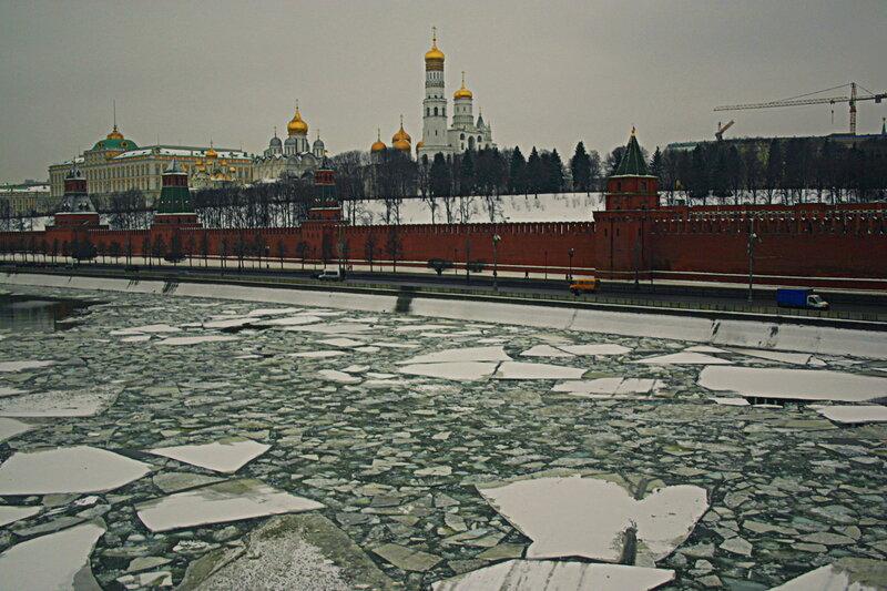 Зимняя прогулка по Москве