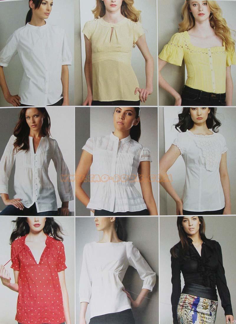 Модели блузок сшить своими руками 33
