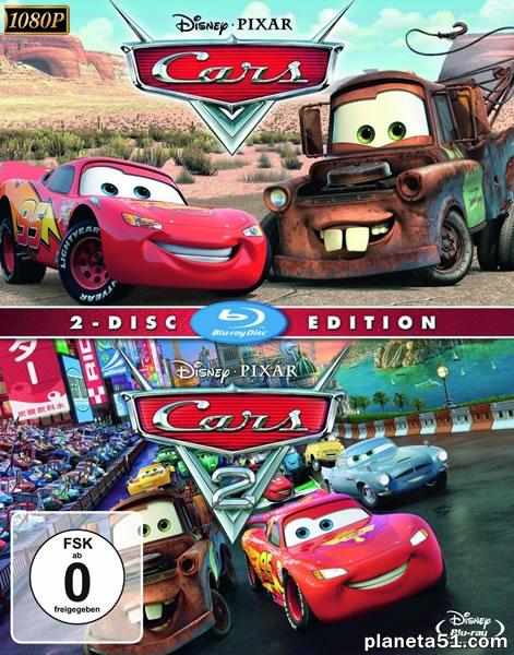 Тачки: Дилогия / Cars: Dilogy (2006-2011) BDRip 1080p