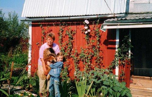 На даче с внучкой.jpg