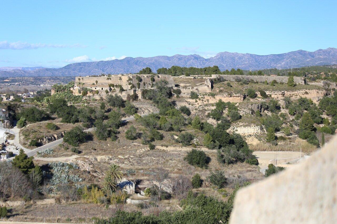 Торотса. Крепость де Тенассес. Castell de Tenasses