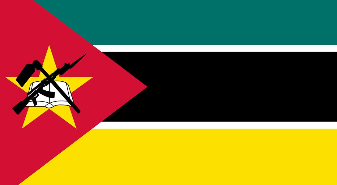 1. Мозамбик Единственный национальный флаг в мире, на котором нарисовано оружие — как боевое, так и